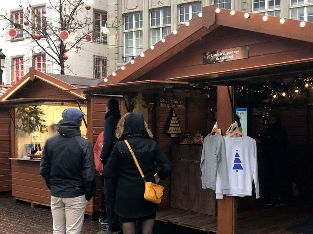 L'Atelier du partage Facebook au Marché de Noël de Strasbourg