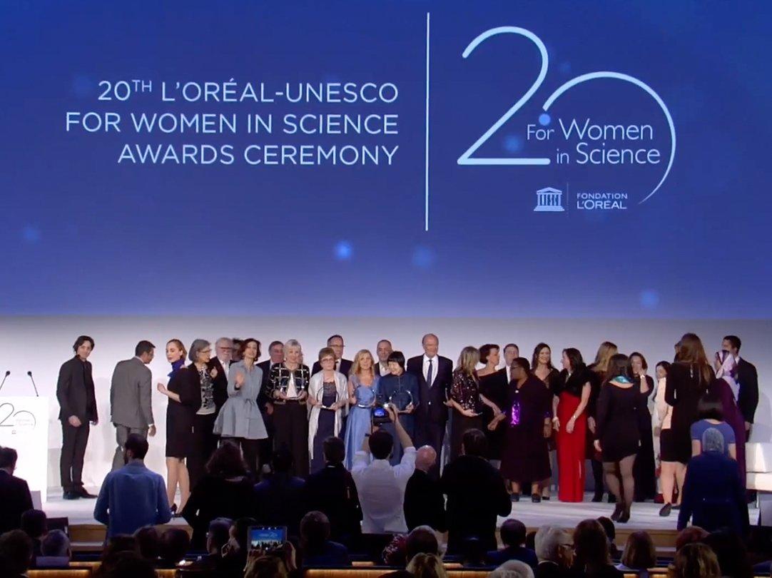Le Prix L'Oréal-UNESCO pour les Femmes et la Science